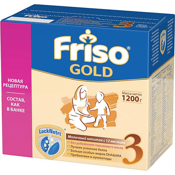 Купить Молочная смесь Friso Gold 3, с 12 мес, 1200 г, Нидерланды, Унисекс