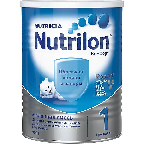 Nutrilon Молочная смесь Nutrilon Комфорт 1, с 0 мес, 900 г
