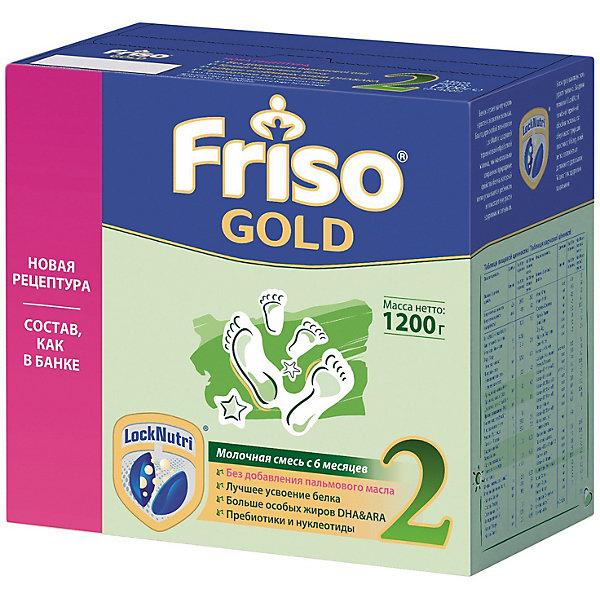 Friso Молочная смесь Friso Gold 2, с 6 мес, 1200 г humana эксперт 2 адаптированная сухая молочная смесь от 6 до 12 месяцев 350 г