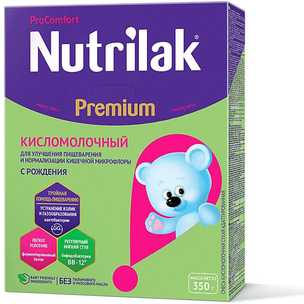 Купить Молочная смесь Nutrilak Premium Кисломолочный, с 0 мес, 350 г, Россия, Унисекс