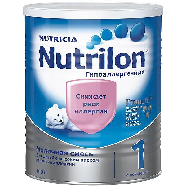 Nutrilon Молочная смесь Nutrilon 1 гипоаллергенный, с 0 мес, 400 г