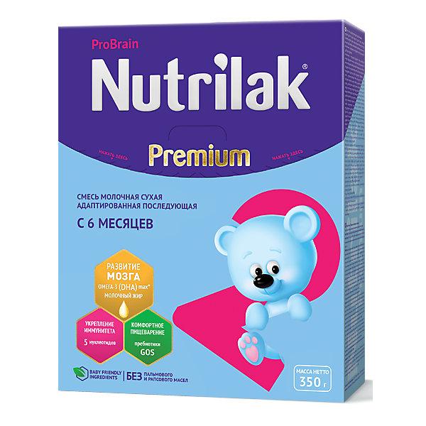 Nutrilak Молочная смесь Nutrilak Premium 2, с 6 мес, 350 г humana эксперт 2 адаптированная сухая молочная смесь от 6 до 12 месяцев 350 г