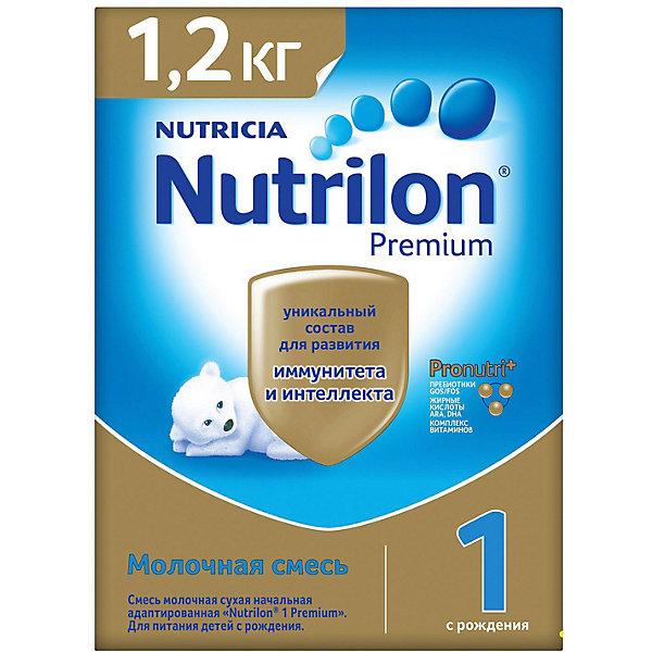 Купить Молочная смесь Nutrilon Premium 1, с 0 мес, 1200 г, Россия, Унисекс