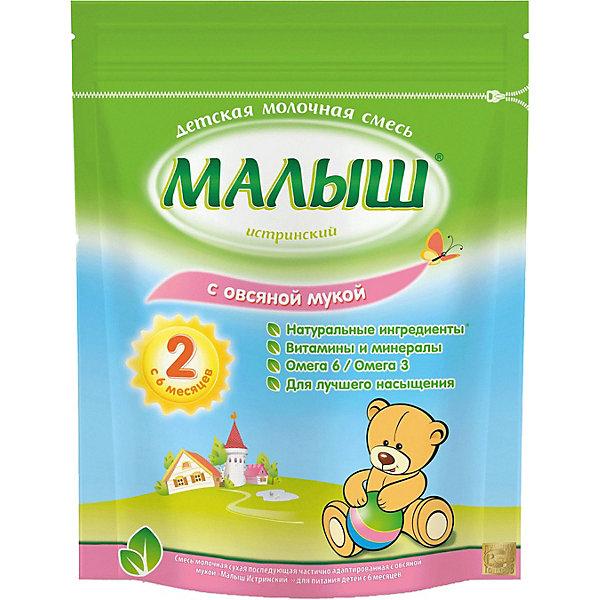Купить Молочная смесь с овсяной мукой Малыш Истринский, с 6 мес, 350 г, Россия, Унисекс