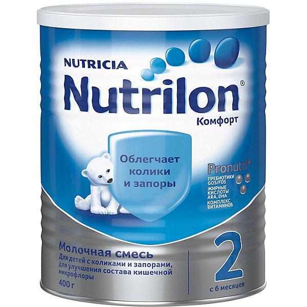 Nutrilon Молочная смесь Nutrilon Комфорт 2, с 6 мес, 400 г