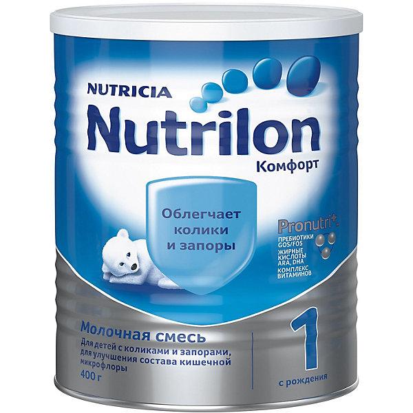 Nutrilon Молочная смесь Nutrilon Комфорт 1, с 0 мес, 400 г