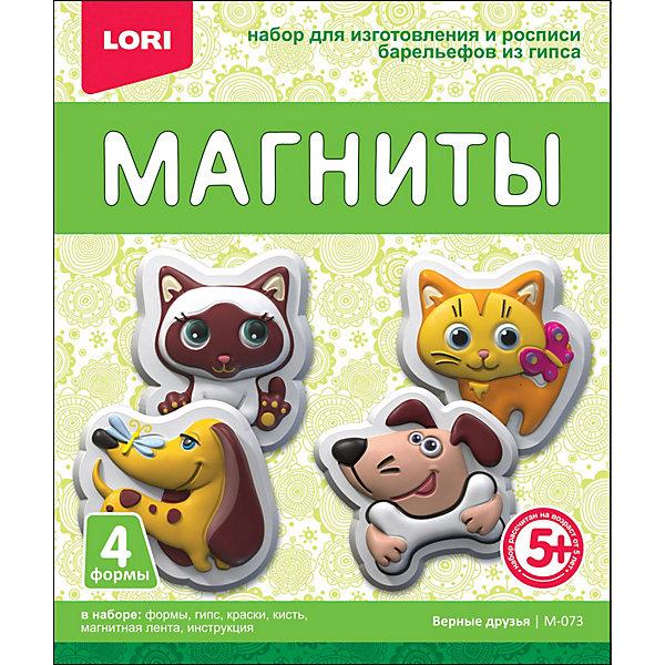 Купить Магниты из гипса Lori Верные друзья, Россия, разноцветный, Унисекс