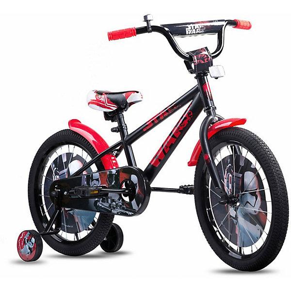 1Toy Двухколёсный велосипед 1Toy Star Wars 18 велосипед schwinn elm 2020 колёса 18 цвет голубой