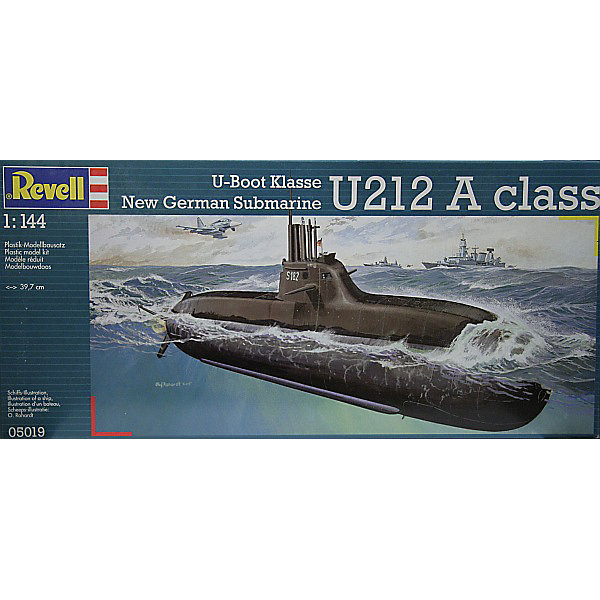 Revell Новейшая немецкая подводная лодка класса U212A