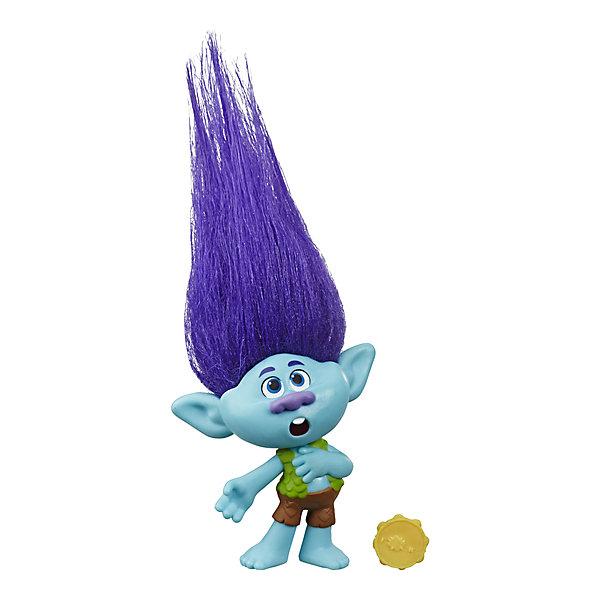 Hasbro Игровая фигурка Trolls World Tour Цветан, 12,7 см hasbro коллекционная фигурка trolls тролли харпер 10 см
