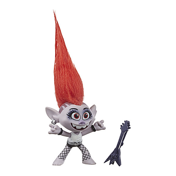 Hasbro Игровая фигурка Trolls World Tour Королева Рокс, 12,7 см hasbro игровой набор trolls город троллей диджей баг