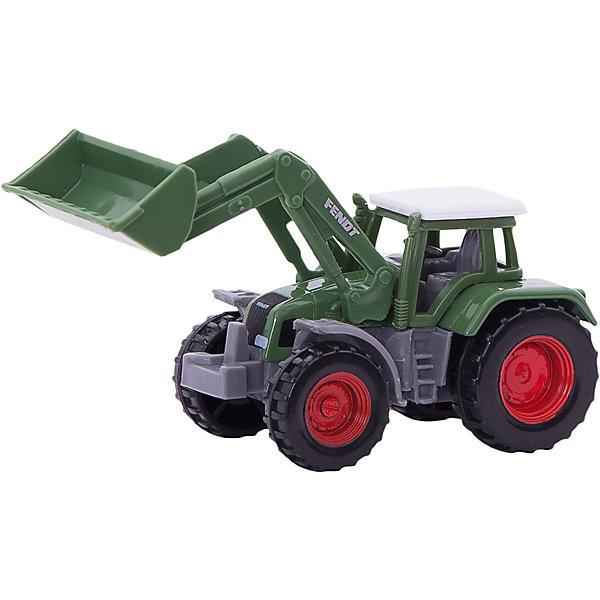 SIKU SIKU 1039 Трактор Fendt с ковшом siku трактор fendt 939 с прицепом и бревнами