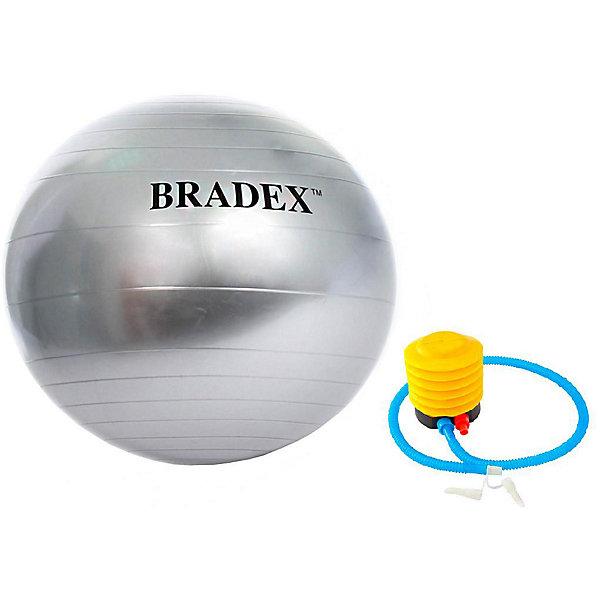 Bradex Мяч для фитнеса Bradex Фитбол-85, с насосом фитбол domyos фитбол устойчивый малого размера для пилатеса