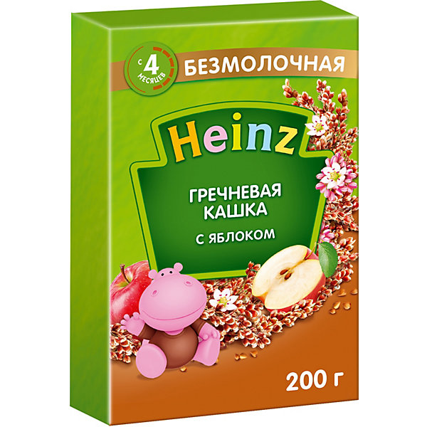 цена на Heinz Каша Heinz гречневая с яблоком, с 4 мес