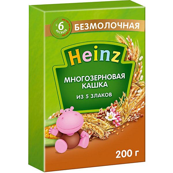 Heinz Каша Heinz многозерновая 5 злаков, с 6 мес