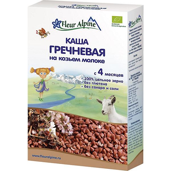 цена на Fleur Alpine Каша Fleur Alpine на козьем молоке гречневая, с 4 мес