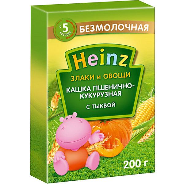 Heinz Каша Heinz пшенично-кукурузная с тыквой, с 5 мес