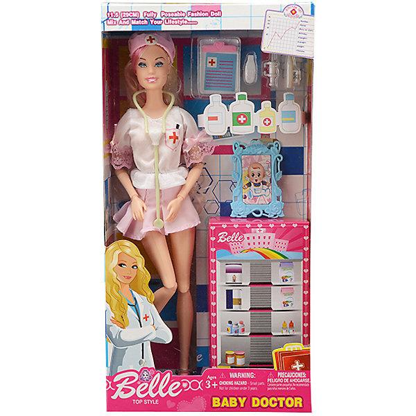 Mioshi Игровой набор с куклой Sandrita Доктор, 28,5 см