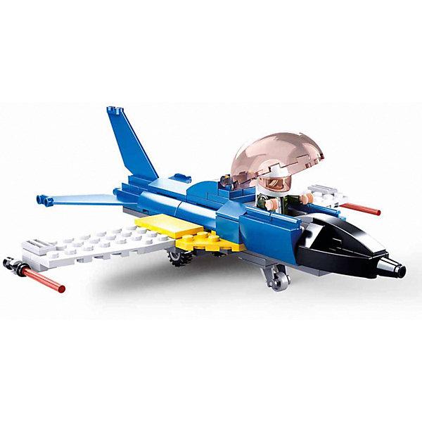 Купить Конструктор Sluban Авиация Учебный самолёт, 116 деталей, Китай, разноцветный, Унисекс