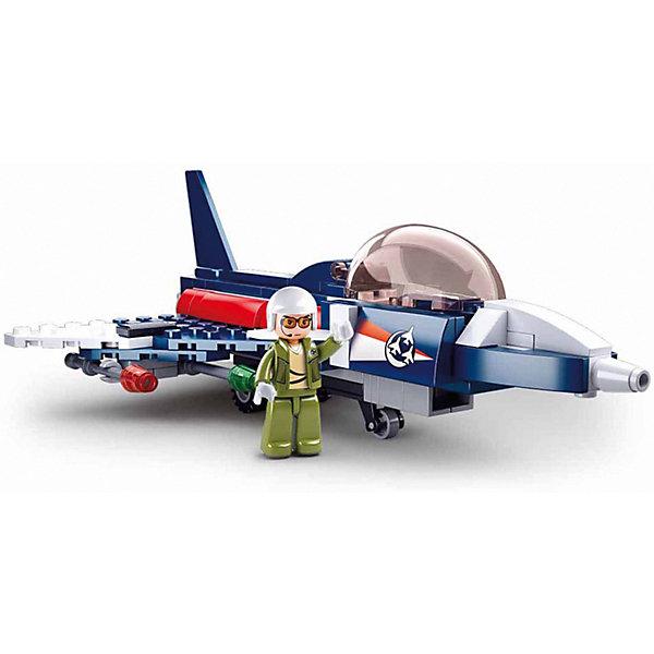 Купить Конструктор Sluban Авиация Самолёт-шпион, 134 детали, Китай, разноцветный, Унисекс