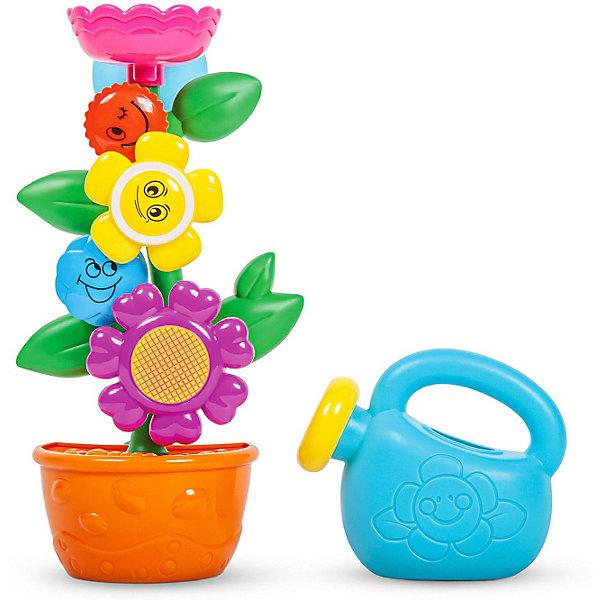 Купить Игровой набор для ванной Baochenjia Toys Цветочек в горшке , 23 см, Mioshi, Китай, разноцветный, Унисекс