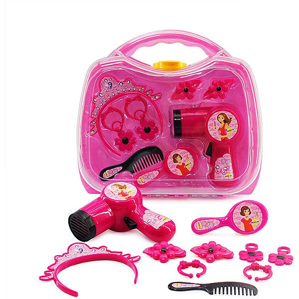 ALTACTO Игровой набор парикмахера Altacto Чемоданчик красоты, 8 предметов