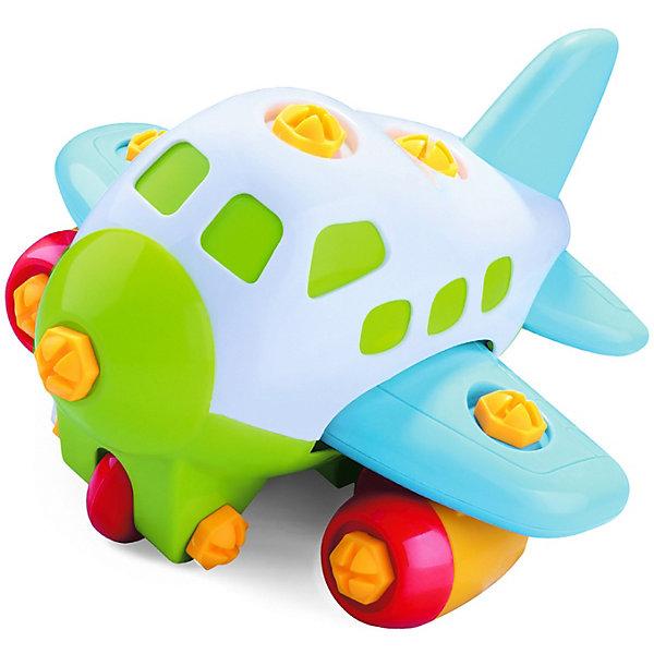 Купить Конструктор Bebelot Basic Самолёт , с инструментами, Китай, разноцветный, Унисекс
