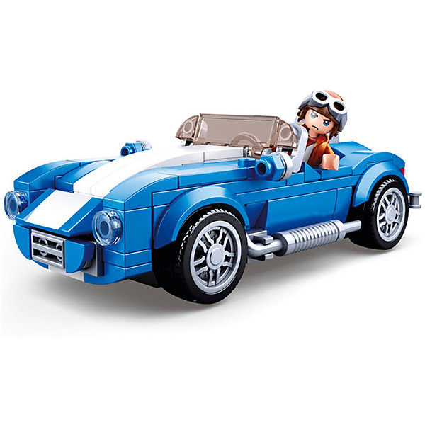 Купить Конструктор Sluban Транспорт Спорт-купе, 169 деталей, Китай, разноцветный, Унисекс