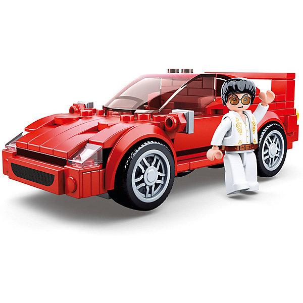 Купить Конструктор Sluban Транспорт Суперкар, 163 детали, Китай, разноцветный, Унисекс