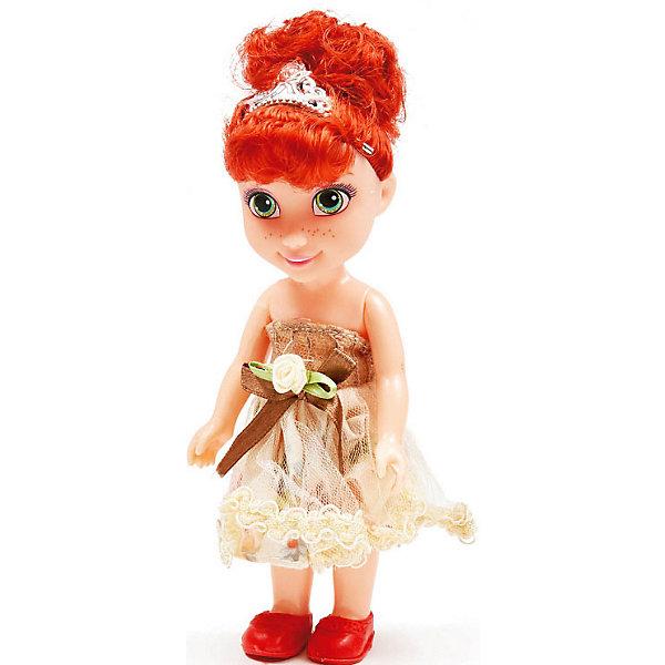 Купить Кукла Qian Jia Toys Девочка в нарядном платье Рыженькая, 16 см, Китай, разноцветный, Женский