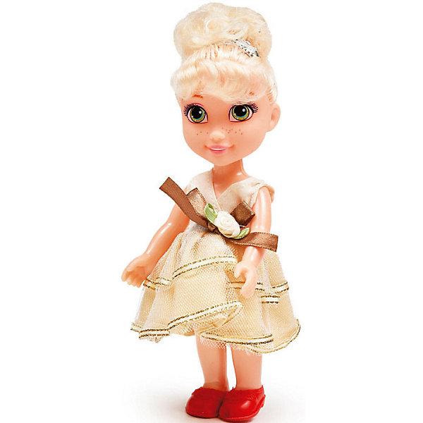 Купить Кукла Qian Jia Toys Девочка в нарядном платье Блондинка, 16 см, Китай, разноцветный, Женский