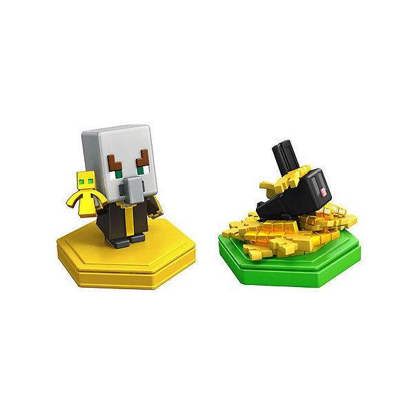 цена на Mattel Набор фигурок Minecraft Earth Эвокер и кролик
