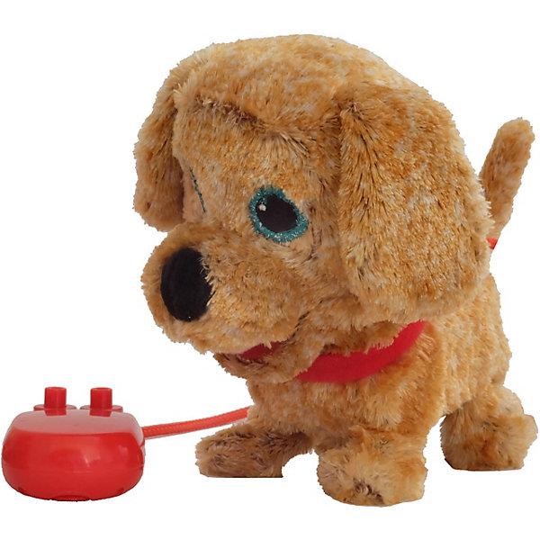 Интерактивная мягкая игрушка Shokid Щенок Noisette, 15 см