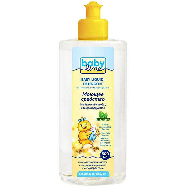 Babyline Натуральное моющее средство Babyline для посуды, овощей и фруктов, 500 мл