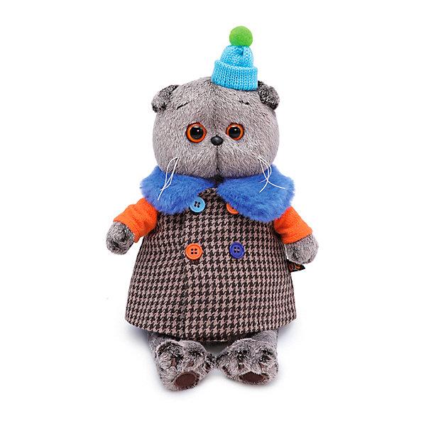 Budi Basa Одежда для мягкой игрушки Budi Basa Пальто для Басика с разноцветными пуговицами, 30 см