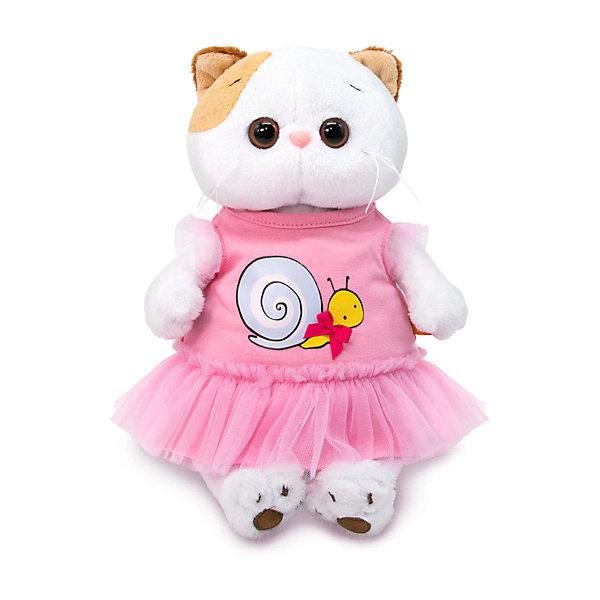 цена на Budi Basa Одежда для мягкой игрушки Budi Basa Платье с принтом Улитка, 24 см