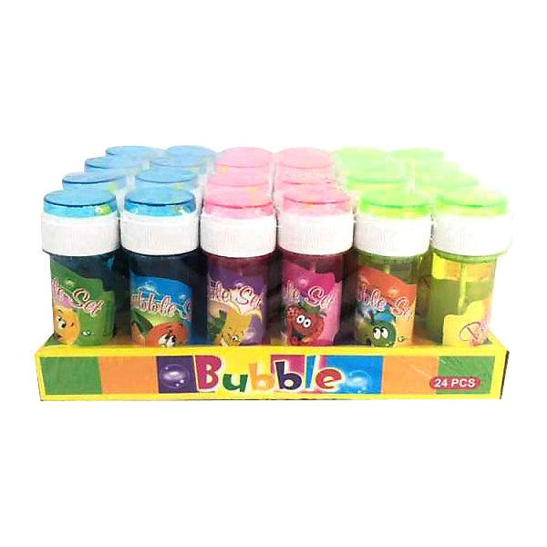 Купить Мыльные пузыри Junfra Веселые фрукты 50 мл, Junfa Toys, Китай, разноцветный, Унисекс