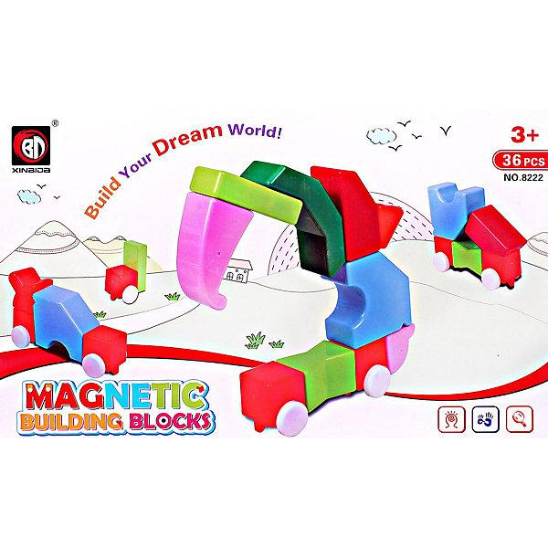 Купить Магнитный 3D пазл Toto, 36 деталей, Китай, Унисекс