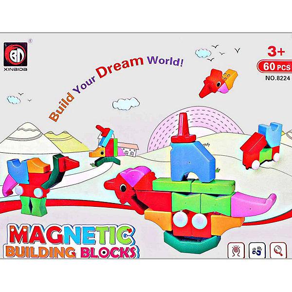 Купить Магнитный 3D пазл Toto, 60 деталей, Китай, Унисекс