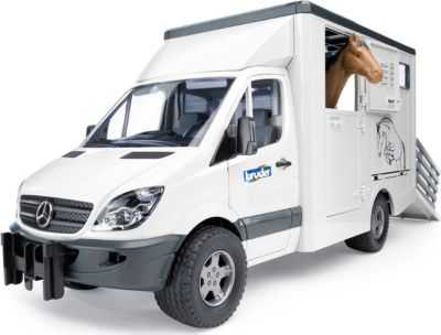 Bruder Mercedes-Benz Sprinter фургон с лошадью