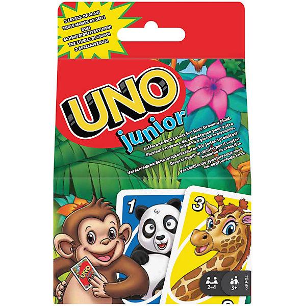 Mattel Игра карточная Games UNO Джуниор (обновленная) GKF04