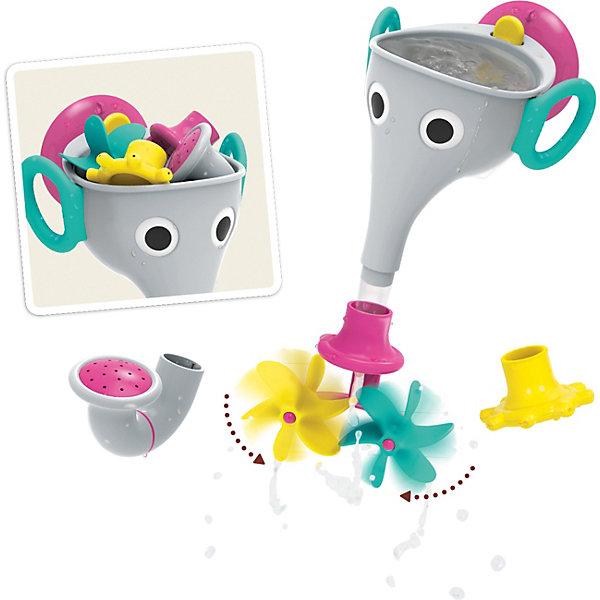Yookidoo Игрушка для купания Yookidoo Веселый слон игрушка для ванной tomy веселый пароход e72453 разноцветный