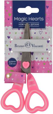 Фото - Bruno Visconti Ножницы Bruno Visconti Magic Hearts, 13 см bruno visconti пенал единороги