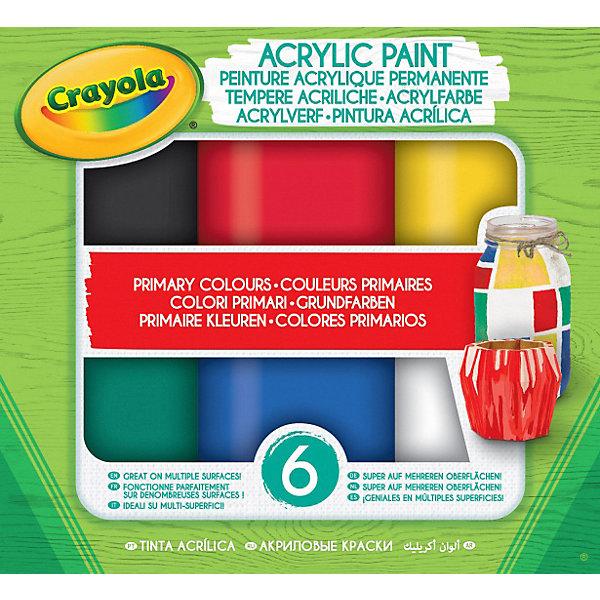 цена на Crayola Акриловая краска Crayola
