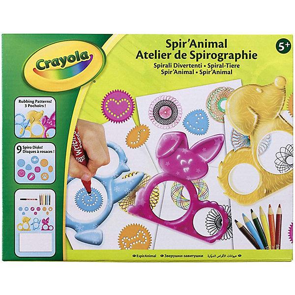 Фото - Crayola Набор спирографов Crayola Животные crayola набор для лепки из теста crayola мини 1