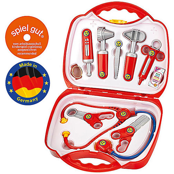 klein Игровой набор Klein Кейс доктора набор инструментов для вязания простые решения 57 предметов кейс для хранения