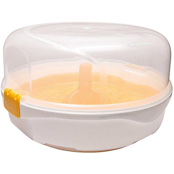 Купить Стерилизатор бутылочек для СВЧ печи Maman LS-B701, Китай, weiß/beige, Унисекс