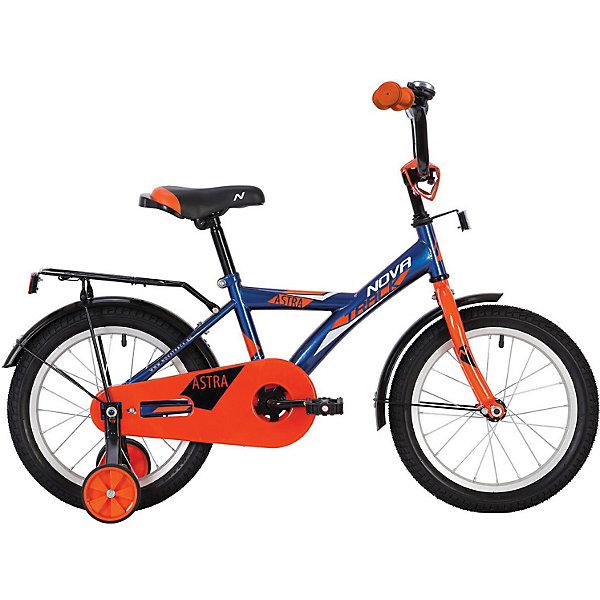 Велосипед Novatrack Astra 12 дюймов, синий