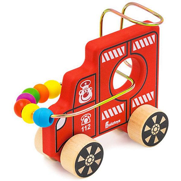 Alatoys Лабиринт-каталка Alatoys Машинка каталка машинка r toys bentley пластик от 1 года музыкальная красный 326
