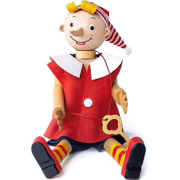 BochArt Игрушка деревянная BochArt Буратино игрушка деревянная буратино каталка ежик в русс кор в кор 100шт